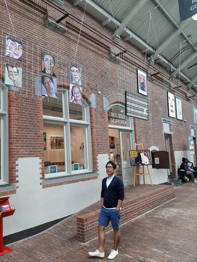 Kunst op 1.5 meter in De Hallen Amsterdam, 13juni t/m 19juni