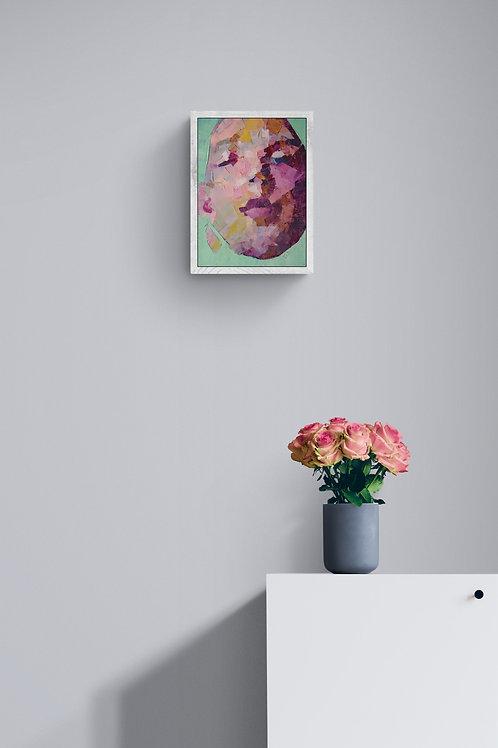 Interpret This, Original Artwork (oil on canvas, 37cm x 27cm)