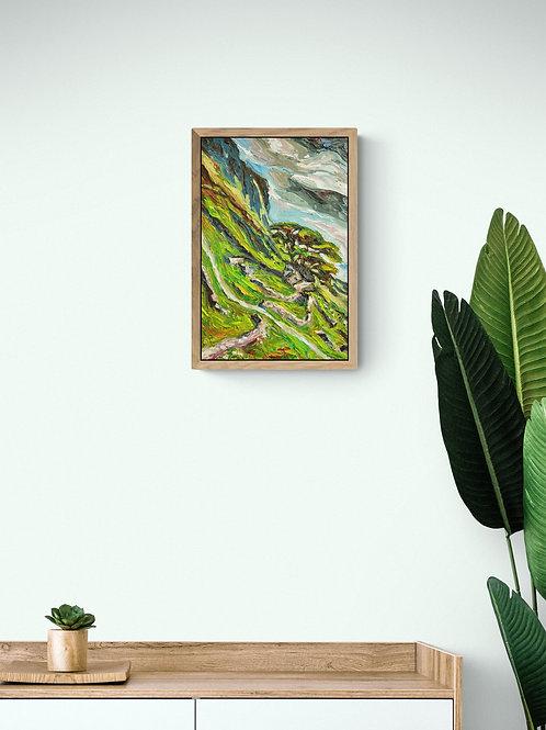 Plateau, Original Artwork (oil on canvas, 44cm x 29cm)