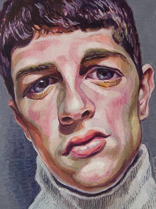 Sean, Original Artwork (oil on canvas, 35cm x 30cm)