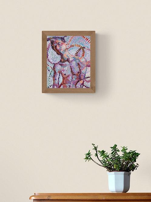 Aura,  Original Artwork (oil on canvas, 36cm x 30cm)