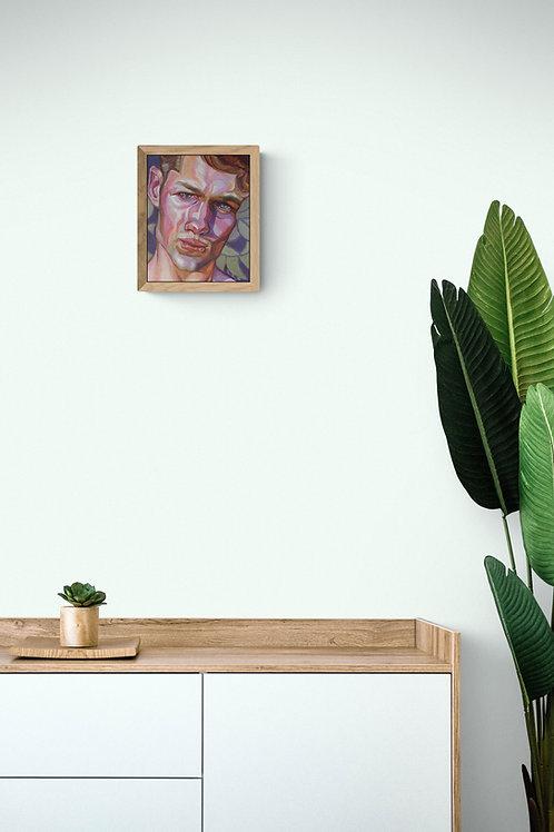 Dilemma, Original Artwork (oil on canvas, 26cm x 21cm)