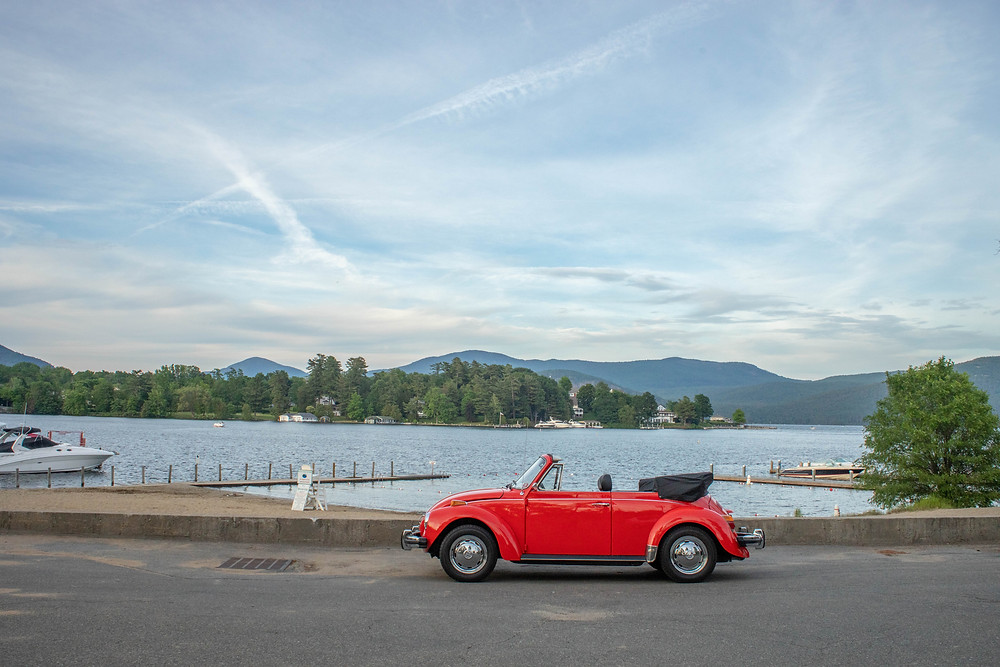 Just a bug chilling up at Bolton Landing next to Lake George