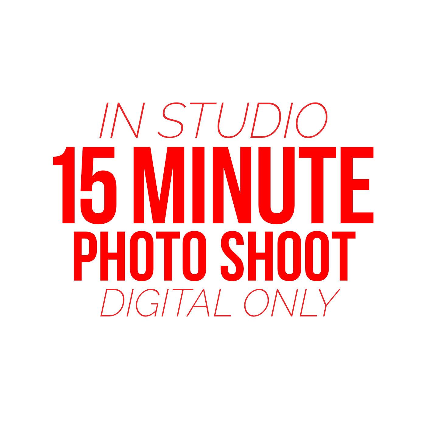 15 Minute Photo Shoot