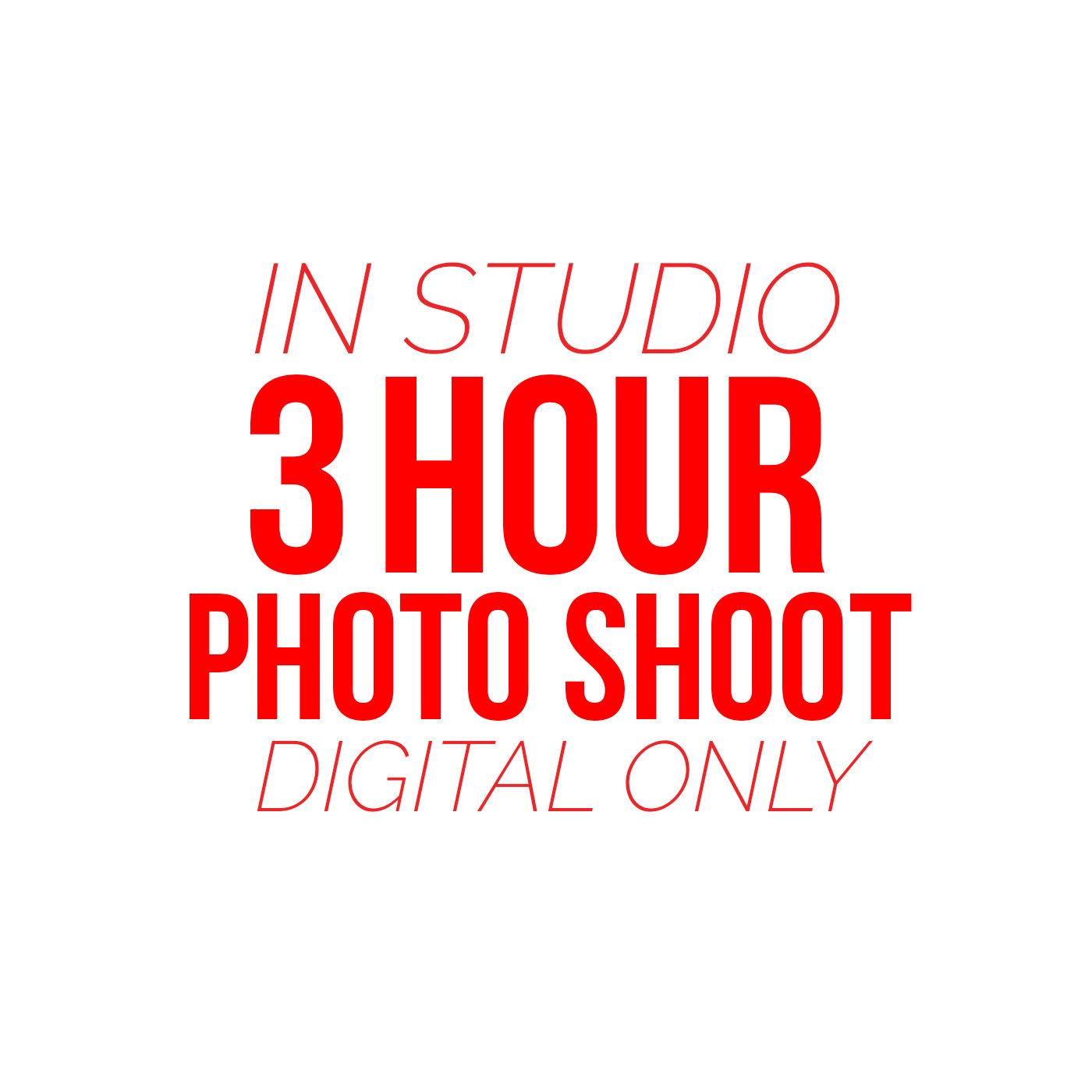 3 Hour Photo Shoot