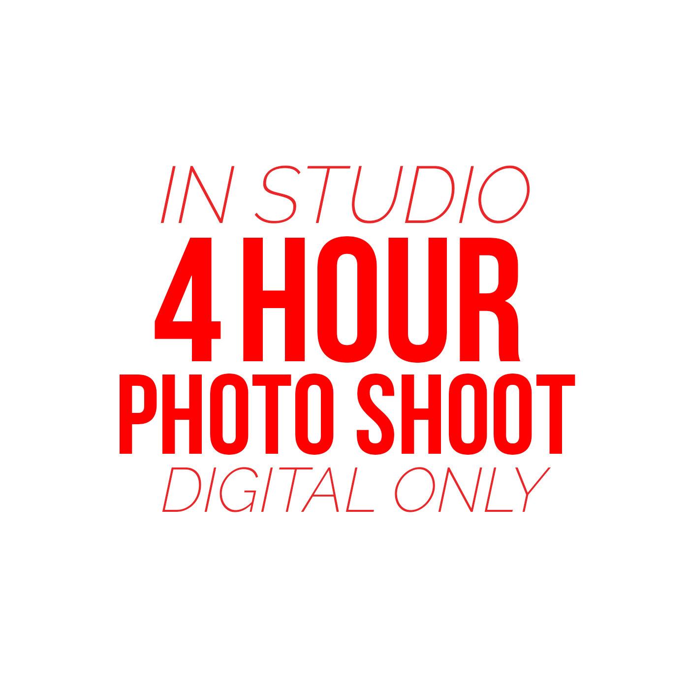 4 Hour Photo Shoot
