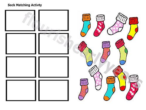 Sock Match Activity