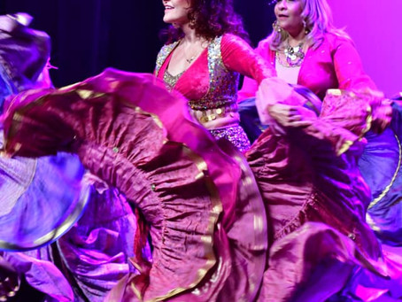 A Vintage Belly Dancer's Adventures
