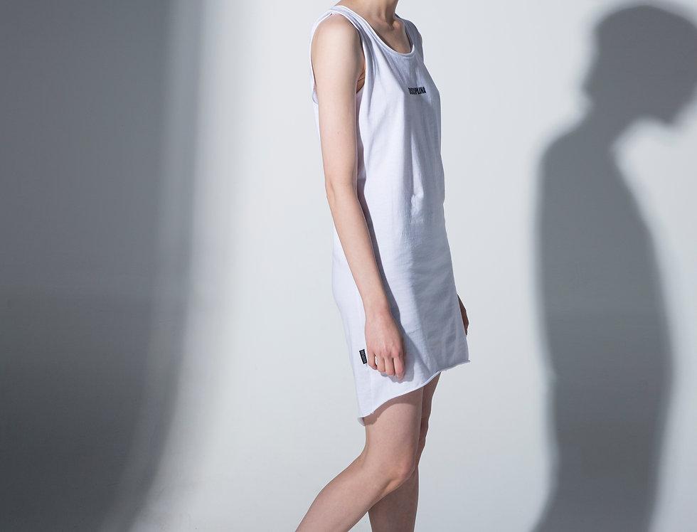 DICIPLINA dress vertical logo / DISCIPLINA vertikalni logo haljina