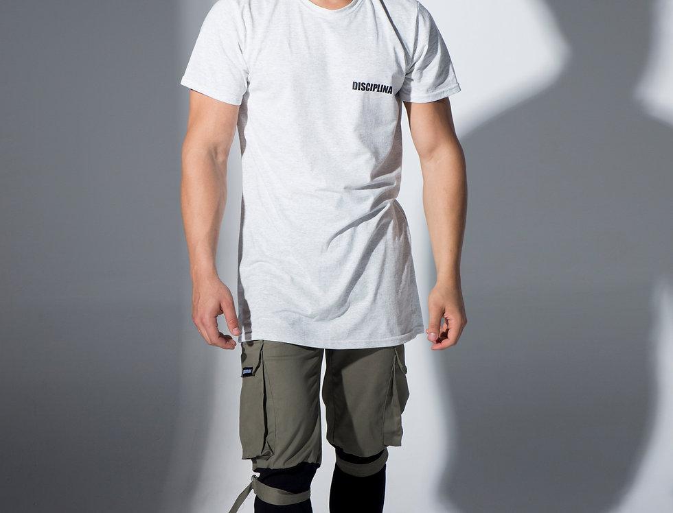 DISCIPLINA LONG vertical logo / DISCIPLINA vertical logo majica duga