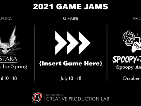 2021 Game Jame Schedule