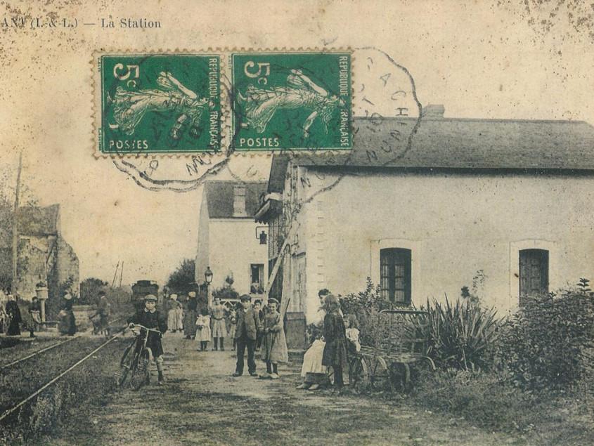 La Gare, XIXe siècle
