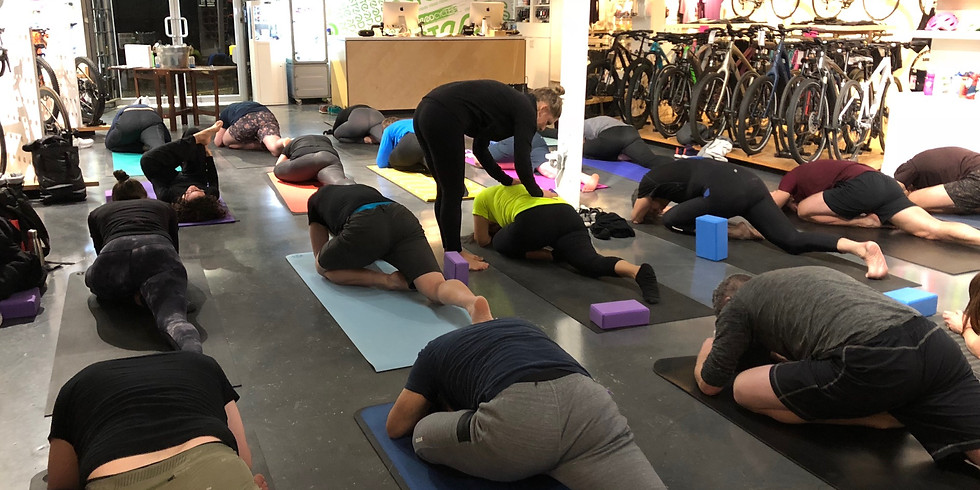 Rise & Thrive Yoga @SteedCycles supported by lululemon Park Royal - Oct 8th