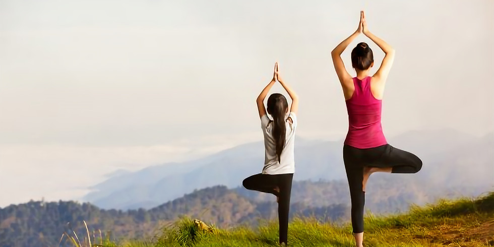 Loved one and ME Yoga & Tea - Mother's Day Partner Yoga