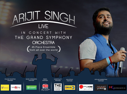 Arijit Singh Dec 2015: Internet Connectivity for Event broadcast and  link to BookMyShow for Ticketing.
