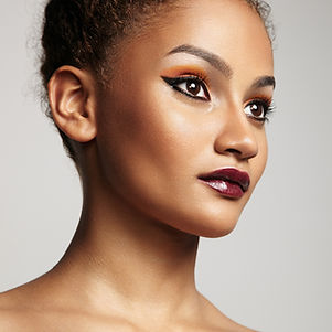 Hair an makeup for a photo shoot