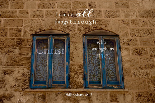 We Do All Things Through Christ