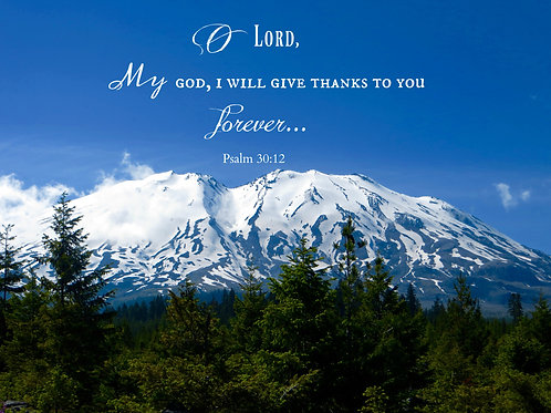 I Will Give Thanks To You