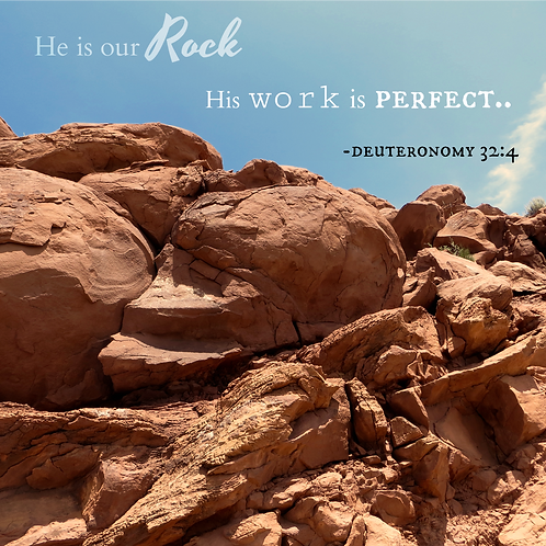 He is Our Rock