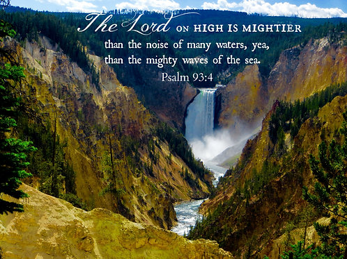 He is Mighty