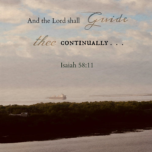 The Lord Shall Guide Thee