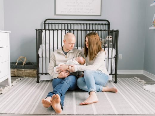 Noah Zane | In-Home Lifestyle Newborn Session