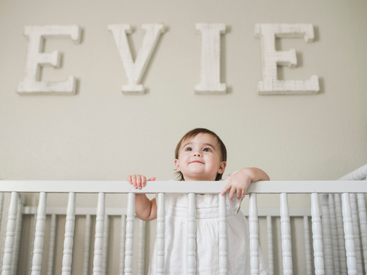 Evie | One Year Milestone Session