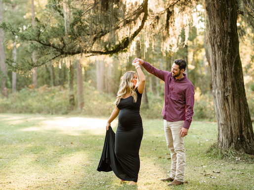 Lance + Abbie | Outdoor Maternity Session