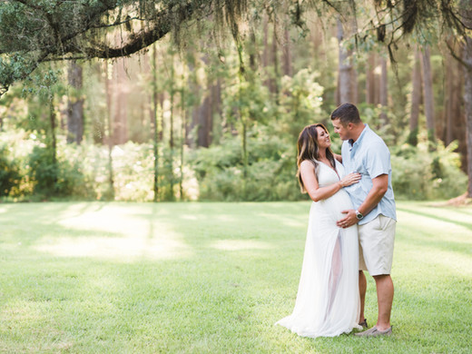 Gage + Katelyn   Outdoor Maternity Session