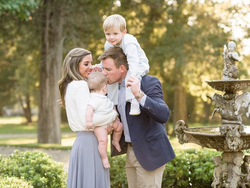 Negard Family | Outdoor Family Session at CedarCroft Plantation