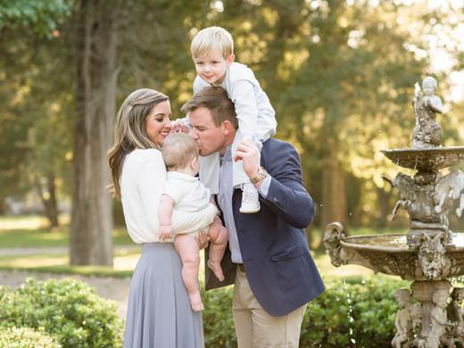 Negard Family | Outdoor Family Session at CedarCroft Plantation