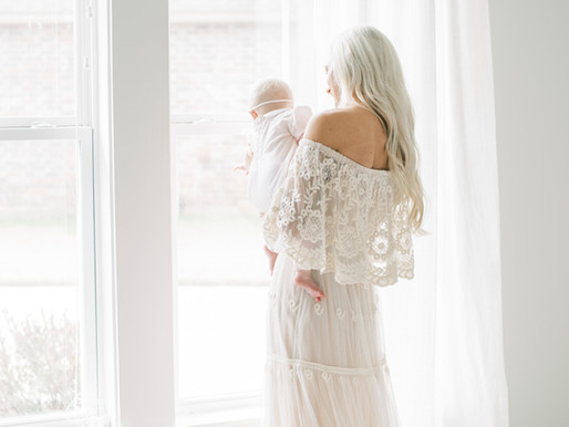 Annabeth & Slayde | Lifestyle Motherhood Studio Session