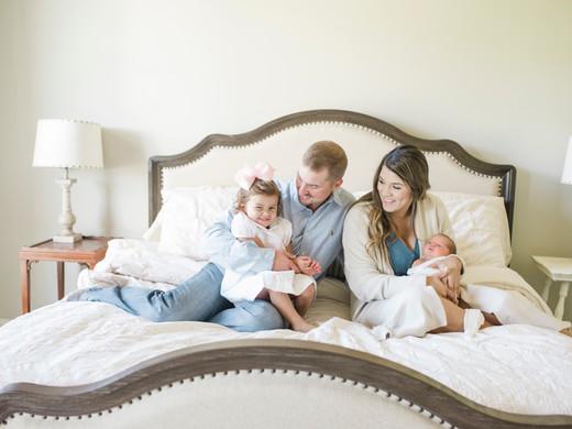 John Tyler | In-Home Lifestyle Newborn Session