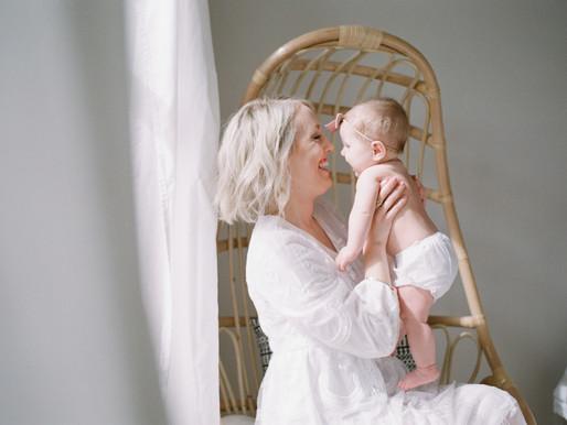 Rachel & Adabelle   Motherhood Session on Film