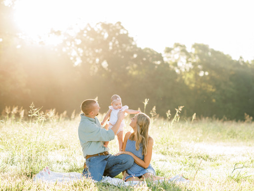Lynch Family | Outdoor Sunrise Family Session