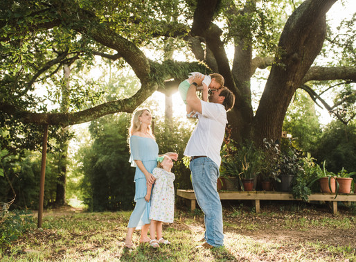 Laffitte Family at Home   Outdoor Lifestyle Family Session