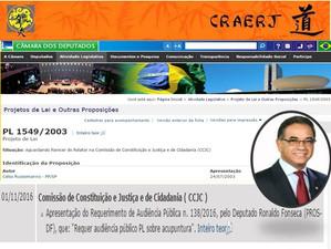 Audiência Pública - PL 1549/2003