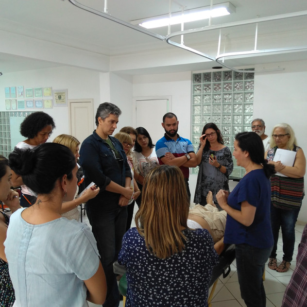Prática com Silvia Ferreira