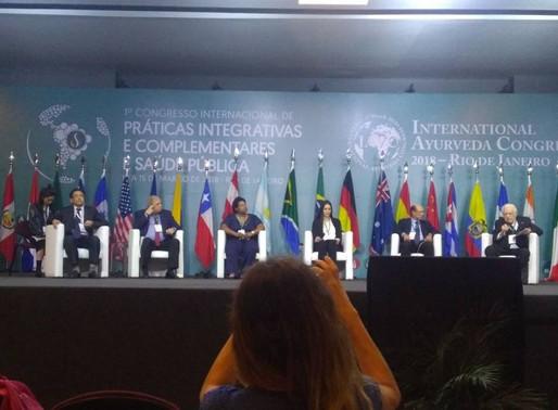 1º CONGREPICS - Congresso Internacional de Práticas Integrativas e Complementares e Saúde Pública