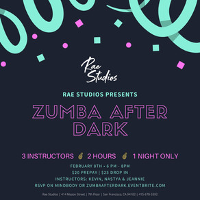 PAST | ZUMBA after Dark