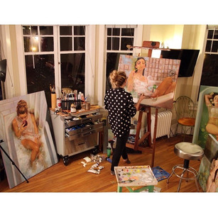 Spotlight: Drawing and Painting Class with Natasha Timm