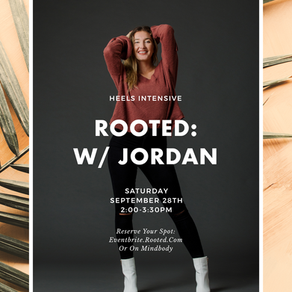 PAST | Spotlight | Rooted: a Heels Intensive w/ Jordan