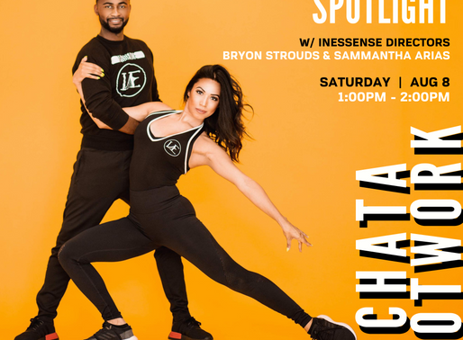 Spotlight: Bachata Master Class featuring Bryon & Sam, Creators of Inessence Dance Company