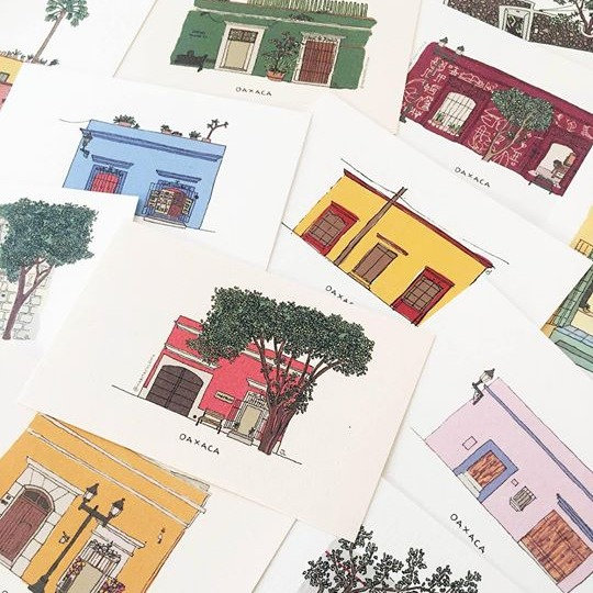 Postal Once In Oaxaca