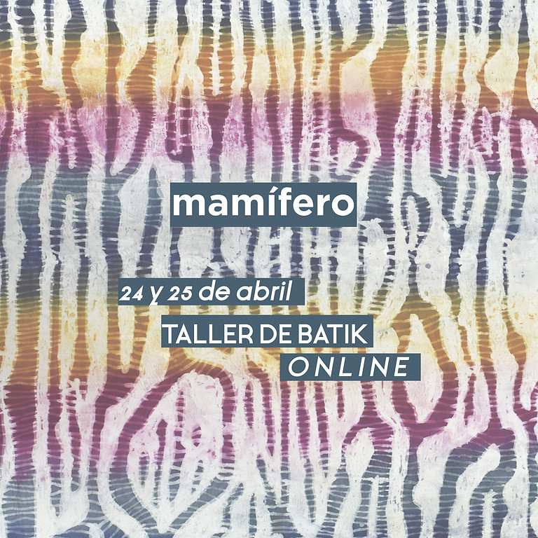 Taller de teñido Batik