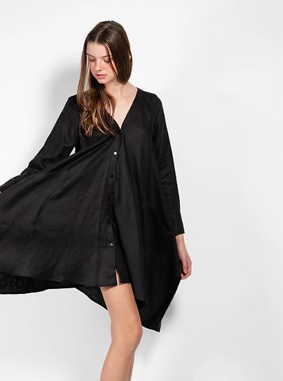 Savannah Linen Dress