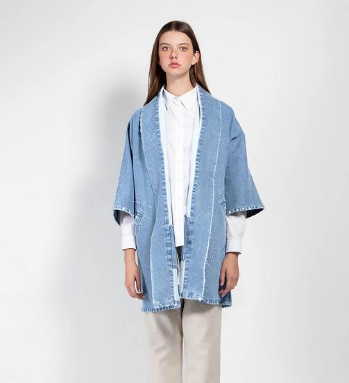 Pollux Denim Kimono Coat