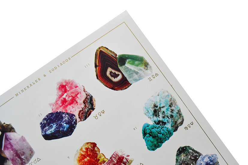 Poster Mineral