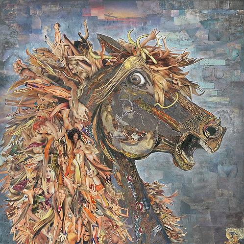 Female Fury - Canvas Giclee