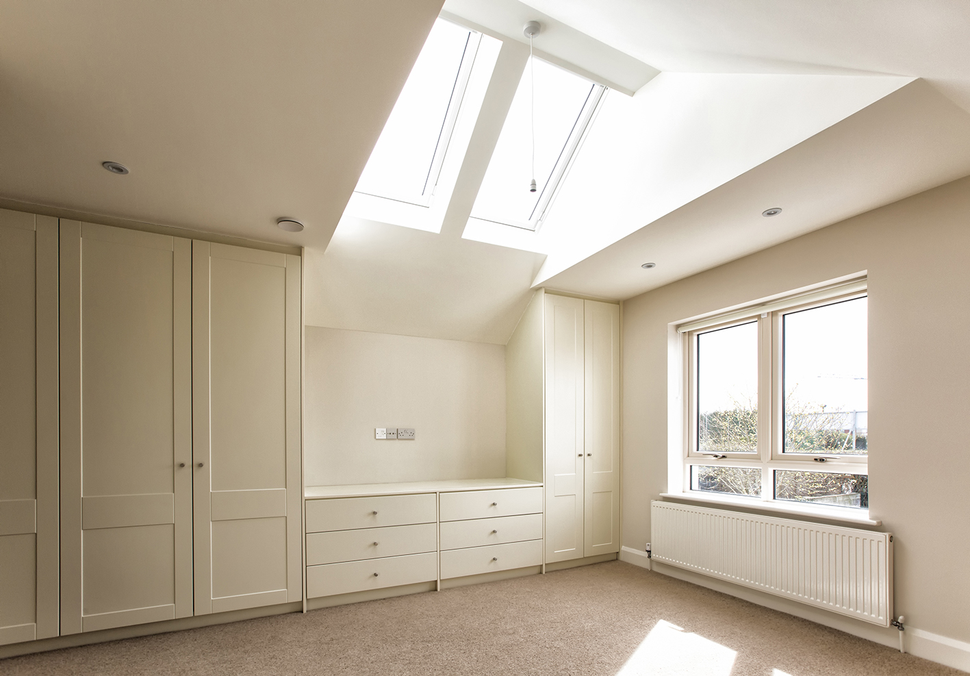Beautiful built-in wardrobes